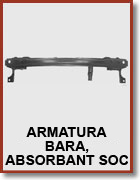 Armatura bara, absorbant soc